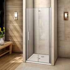 Frameless Bifold Shower Door United Frameless Bifold Shower Enclosure Door 6mm Tempered Glass