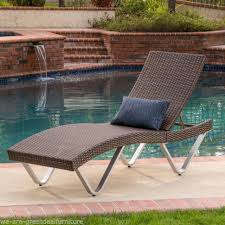 Chaise Lounge Outdoor Furniture Outdoor Patio Furniture Chaise Lounge Ebay