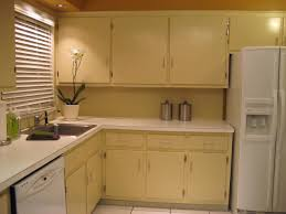 Painted Old Kitchen Cabinets How To Paint Old Cabinets Everdayentropy Com