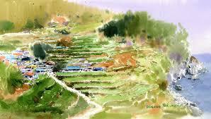 shin jong sik watercolor painter tutt u0027art pittura