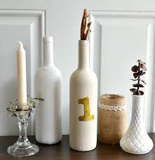 Diy Table Number Holders Diy Wine Bottle Table Numbers