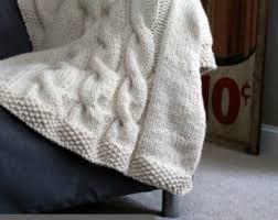wedding gift knitting patterns afghan knitting pattern winter blanket throw knit