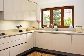 High Gloss Acrylic Kitchen Cabinets by High Gloss Cream Acrylic Kitchens