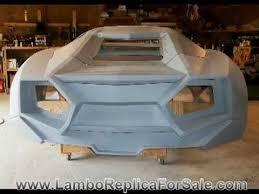 build a lamborghini kit car lamborghini reventon replica project part 3 a kit car