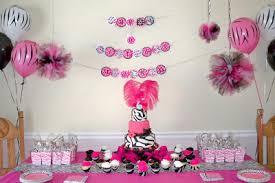 my creative way pink zebra diva birthday party ideas