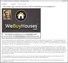 craigslist strategy we buy houses marketing portal