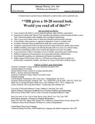 New Grad Rn Resume Examples by Icu Resume Sample Free Resume Example And Writing Download