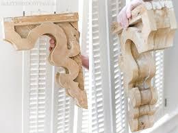 Corbels For Shelves Remodelaholic Diy Vintage Inspired Corbel Building Plan U0026 Pattern