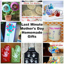 last minute mothers day gifts homemade by kids kiddy crafty