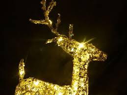 gold reindeer outdoor decoration billingsblessingbags org