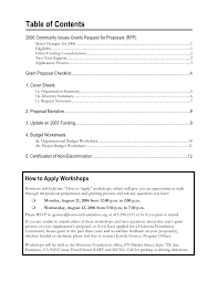 2006 community issues grants request for proposals rfp