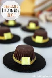 thanksgiving pilgrim hat treats recipe cincyshopper