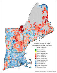 Presidential Election Map by The Results Of The 2016 Presidential Election In Each New England
