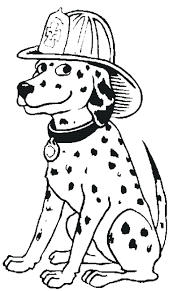 articles with dalmatian fire dog coloring pages tag dalmatian
