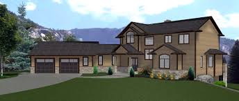 apartments 2 story house with garage house plans angled garage