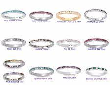 stackable birthstone ring stackable birthstone rings ebay