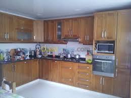cuisine en algerie meuble de cuisine en bois ouedkniss idée de modèle de cuisine