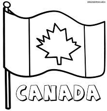 canadian flag coloring pages coloring pages to download and print