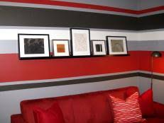 painting alternating stripes on a wall hgtv