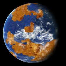 Map Of The World 1 Million Years Ago by Venus May Once Have Been Habitable Nasa