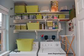 home decor laundry room shelves floating wooden organize laundry