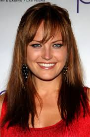 haircut for wispy hair malin akerman long hairstyle red hair with wispy bangs pretty