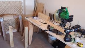quick and easy folding miter saw table album on imgur