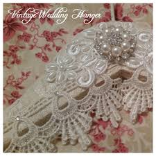 wedding dress hanger vintage wedding dress hanger