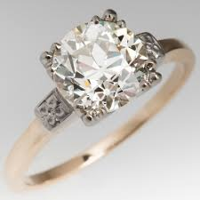 diamond rings vintage images Vintage engagement rings antique diamond rings eragem jpg