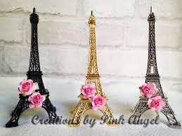 eiffel tower favors 6 gold eiffel tower favors eiffel tower centerpieces baby