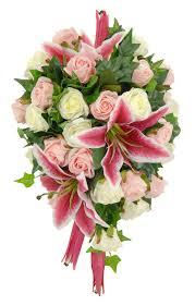 stargazer bouquet mixed pink ivory stargazer bridal shower bouquet