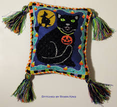 needlepoint study hall halloween decorations from robin part 2