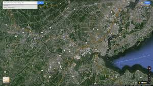Satellite Map Of Usa by Edison Township New Jersey Map