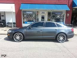 2008 audi a6 rims 2008 white audi s4 with matte black niche sport wheels