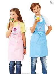 tablier de cuisine enfant personnalisé tablier pour enfant de cuisine à personnaliser idées cadeaux
