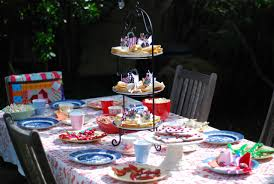 tea party tables a tea party a handmade