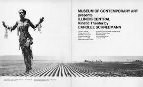 Carolee Schneemann Interior Scroll Carolee Schneemann Krannert Art Museum
