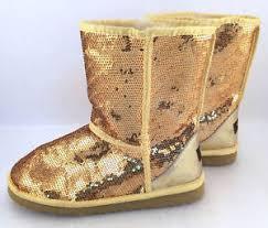 s oregon ugg boots ugg australia boots gold sequin sparkle 3161 size us 8 ebay