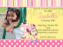 what to write on 1st birthday invitations choice image