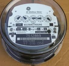 ge electric watthour meter kwh type i70s i 70s fm 2s 240v