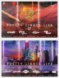 pretty lights red rocks tickets red rocks and northerly island pretty lights