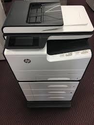 hp pagewide pro 577dw color printer copier scanner half price