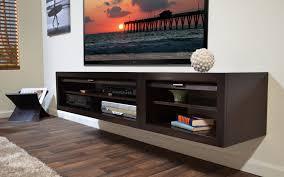 Espresso Floating Shelves by Espresso High Gloss Polished Wooden Floating Shelf For Media