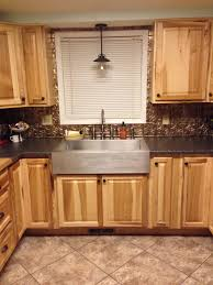 Washer Dryer Enclosure Decorating Hickory Cabinets By Lowes Kitchens Plus Countertop
