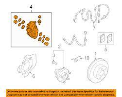 nissan rogue infiniti equivalent infiniti nissan oem 08 13 g37 front brake disc caliper 41001jl02a