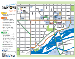 Printable Map Of Wisconsin by Downtown Walking Map