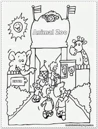 z is for zoo coloring page chat de baito