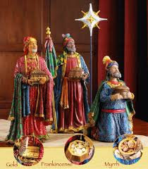Home Interior Figurines by Amazon Com Three Kings Gifts Real Life Nativity Set 14 Inch Home