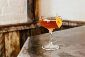 manhattan drink illustration the eddy