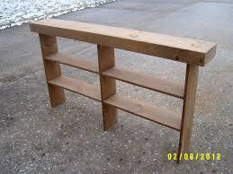 long skinny console table fashionable pecan coastal narrow hall table regatta blue coastal